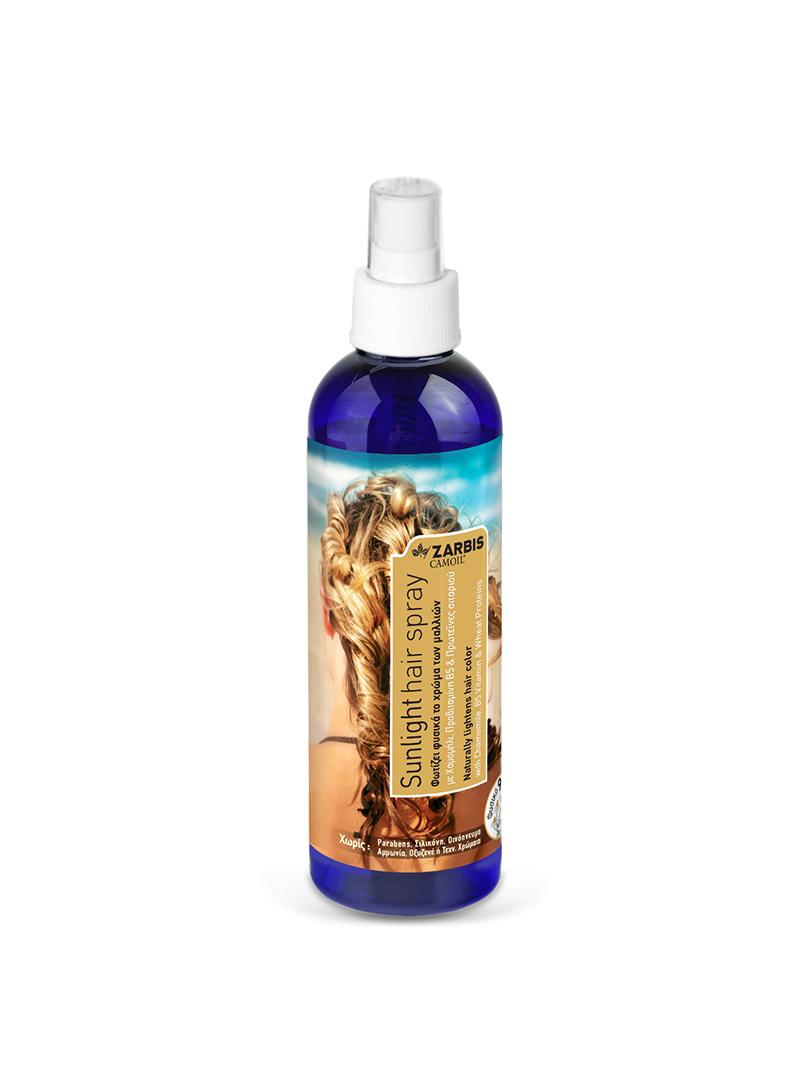 Sunlight Hairspray Zarbis Johnz Pharmaceuticals